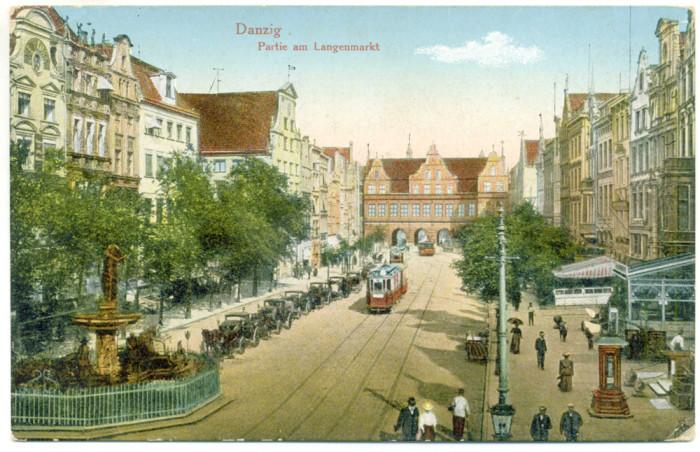 Gdańsk. Ulica Długa, Długi Targ