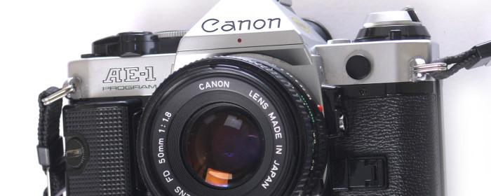 Aparat fotograficzny Canon – AE 1