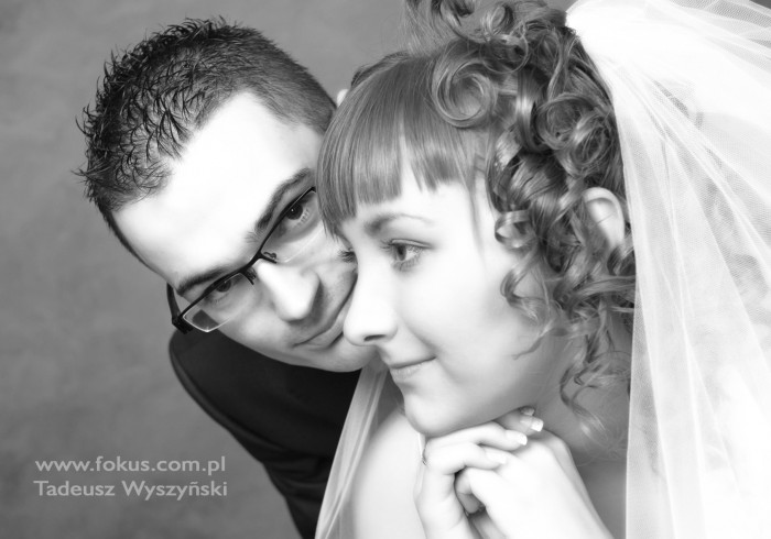 Fotografia ślubna w studio Gdańsk – Natalia i Krzysztof