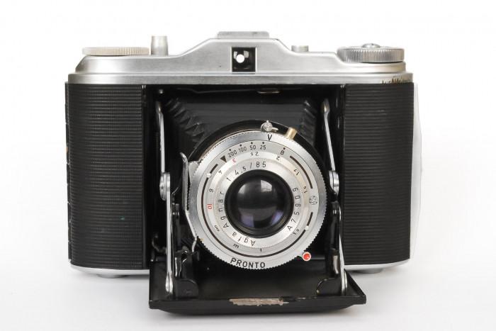 Aparat fotograficzny średnioformatowy Agfa Isolette