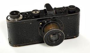 Leica 0. Prototyp z 1914 roku.
