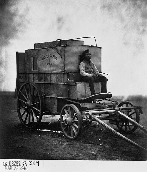 Pierwszy fotoreporter  Roger Fenton