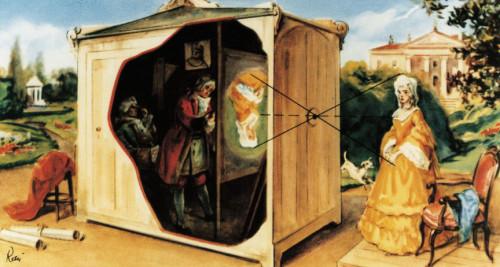 Camera obskura Leonarda da Vinci