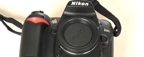Lustranka cyfrowa Nikon D90