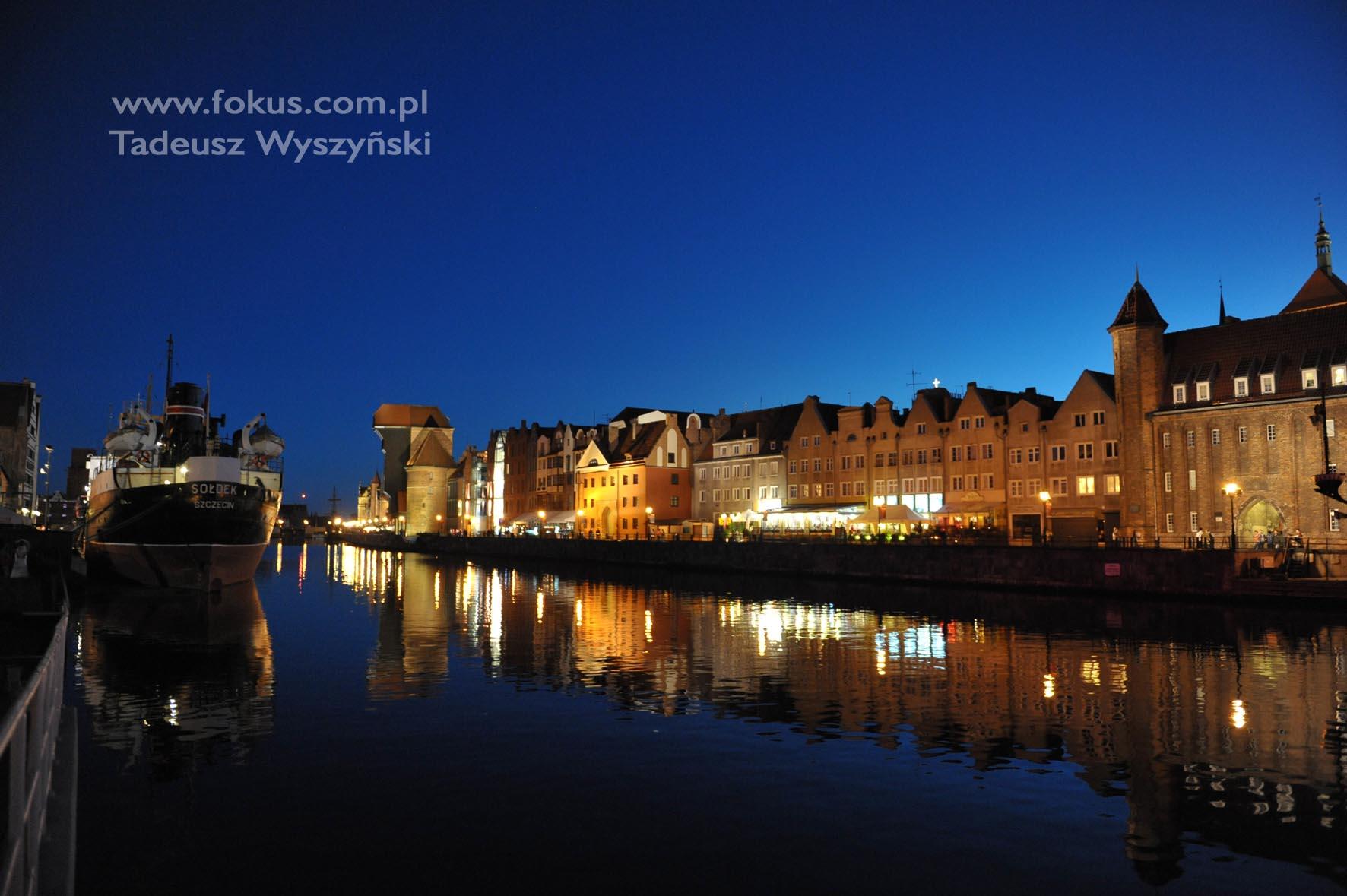 Fotografia Gdansk Motlawa