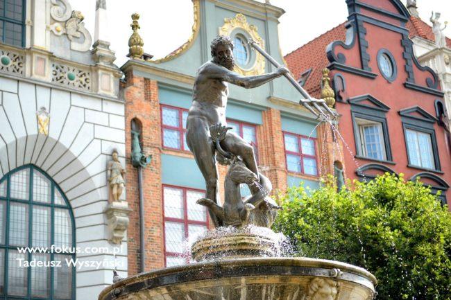 Gdańsk Długi Targ Fotografia Tadeusz Wyszynski