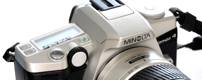 Aparat fotograficzny Minolta Dynax