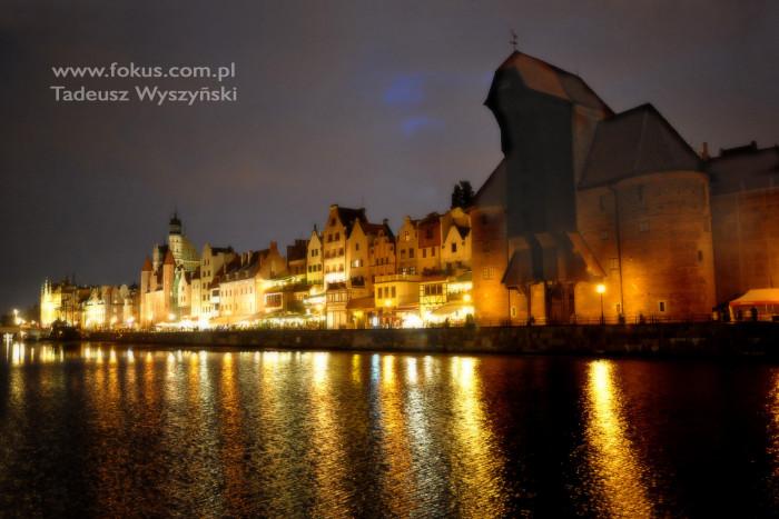Fotografia Gdańsk Motława, Długie Pobrzeże