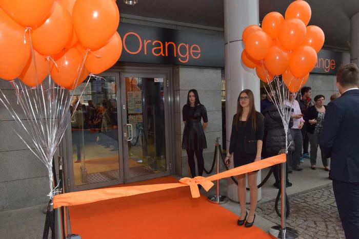 Otwarcie Salonu Orange